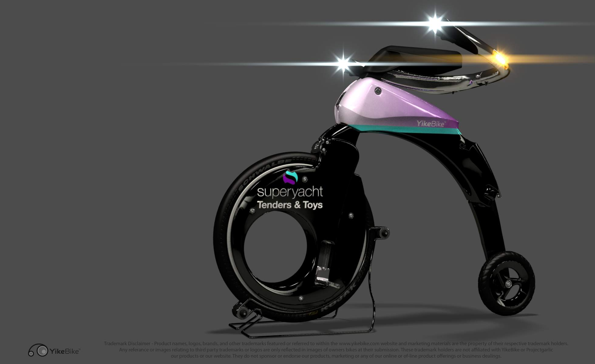Innovative new Yike Bike offered for yachts